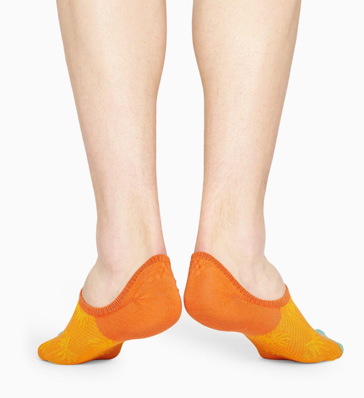 Orange Anzugsocken: Palm - DRESSED   Happy Socks