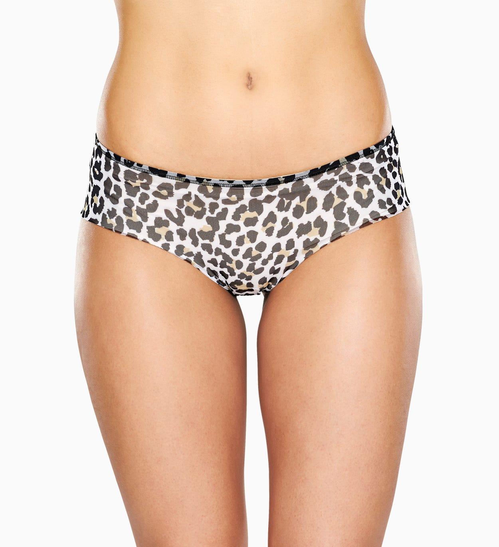 Mesh Hipster: Leopard - Damenunterwäsche   Happy Socks