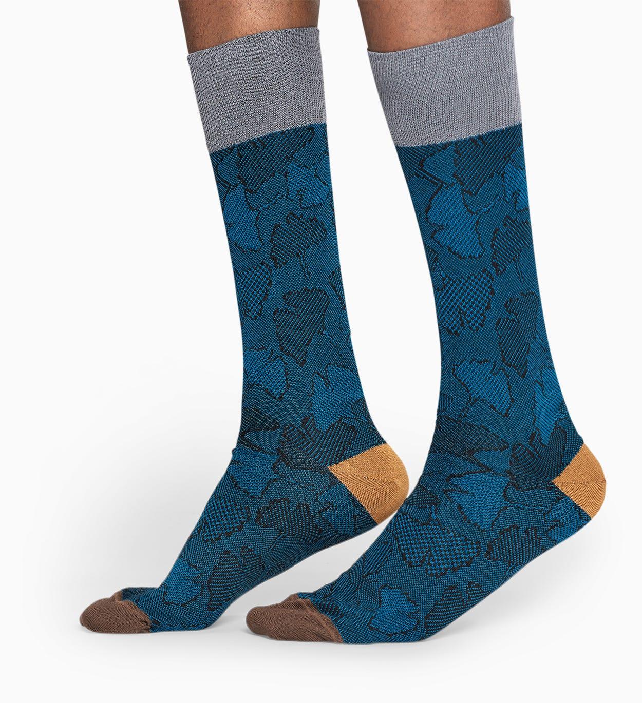 Dark Blue suit socks: Ginko - DRESSED | Happy Socks