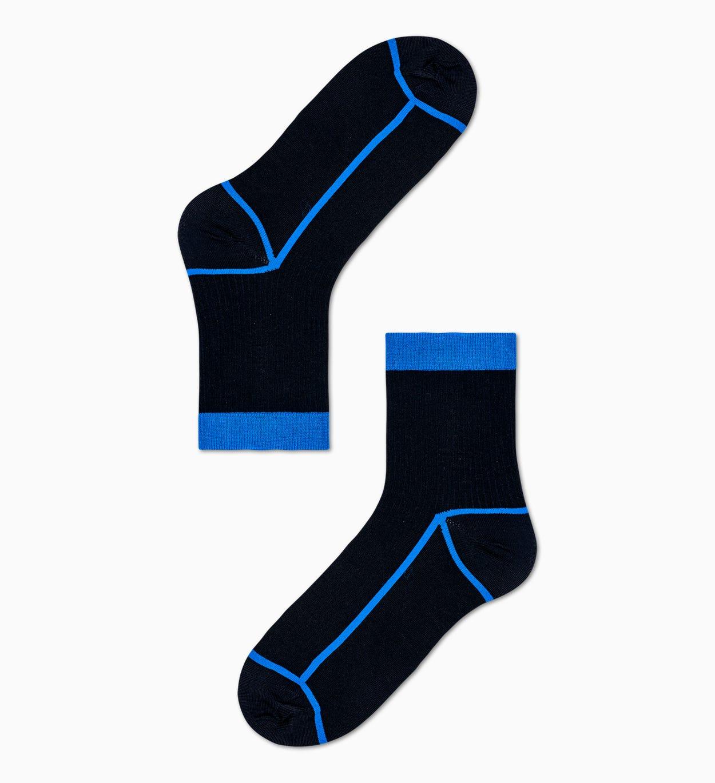 Damen Sneaker Socken: Lily - Schwarz   Hysteria