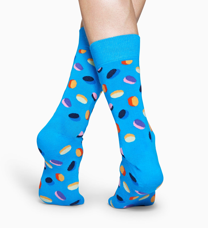 Blaue Baumwollsocken: Pills Design | Happy Socks