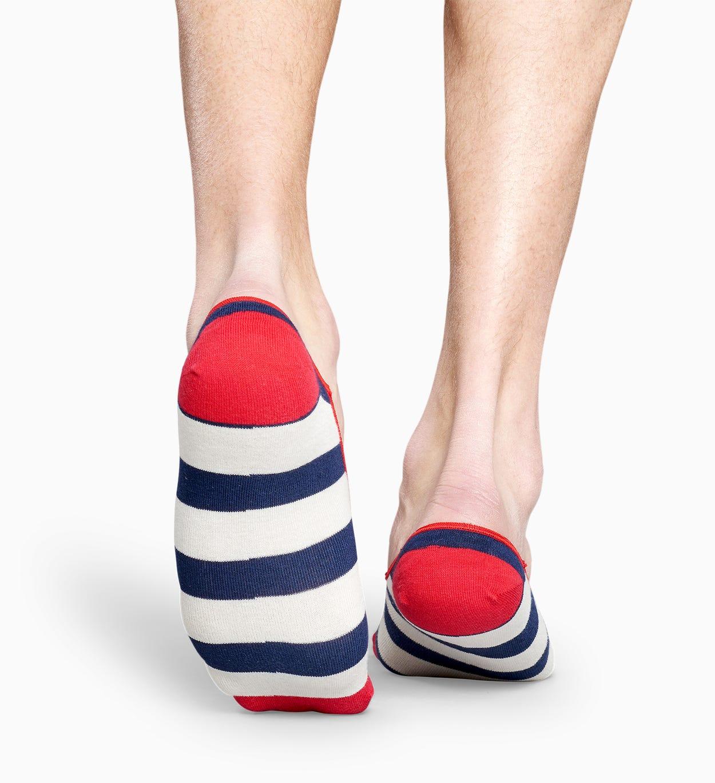 Rot   blau gestreifte Füßlinge: Stripe   Happy Socks