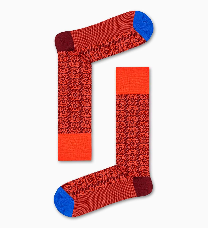 Orange Anzugsocken: Telefon - Dressed | Happy Socks