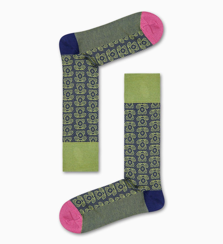 Grüne Anzugsocken: Telefon - Dressed | Happy Socks