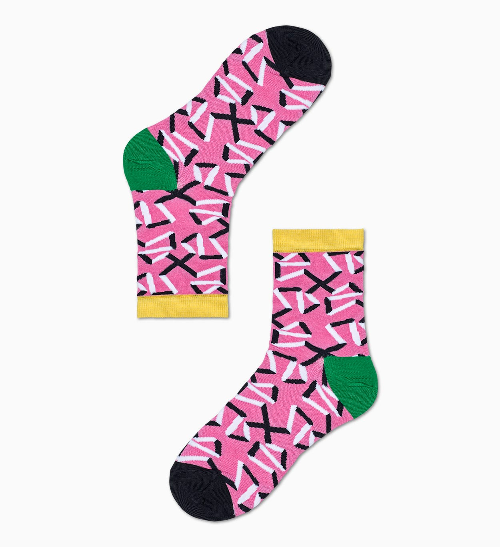 Damen Sneaker Socken: Adela - Pink | Hysteria