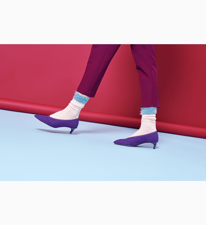 Pinke mittelhohe Socken: Judit | Hysteria by Happy Socks