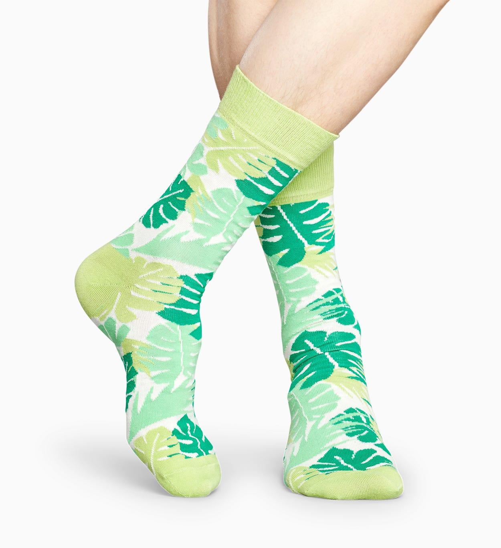 Grüne Blätter Socken: Leaves | Happy Socks