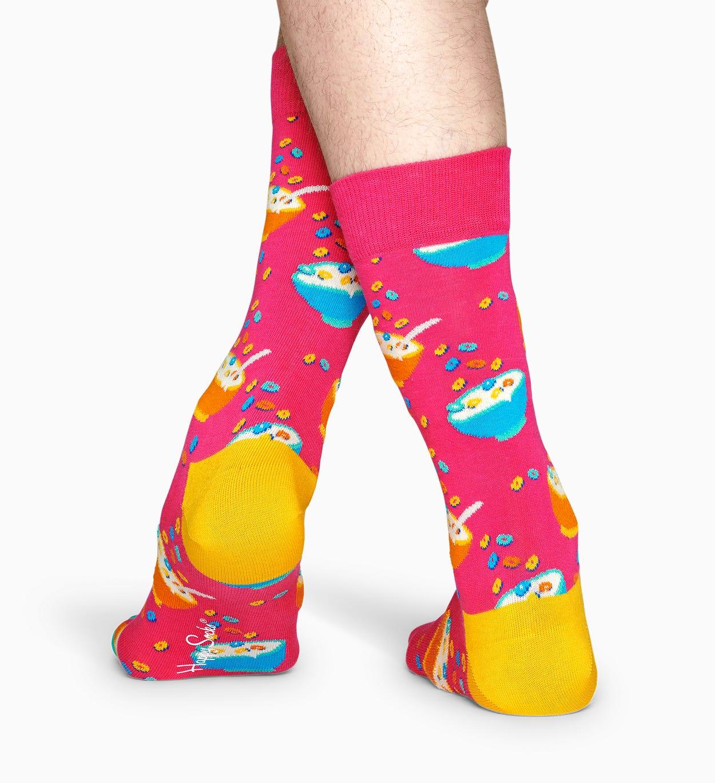 Die Frühstückssocke für Champions! Diese fröhlichen Fruit Loops Socken in leuchtendem Kaugummirosa stecken voller Energie. Der zuckersüße Style ist der …