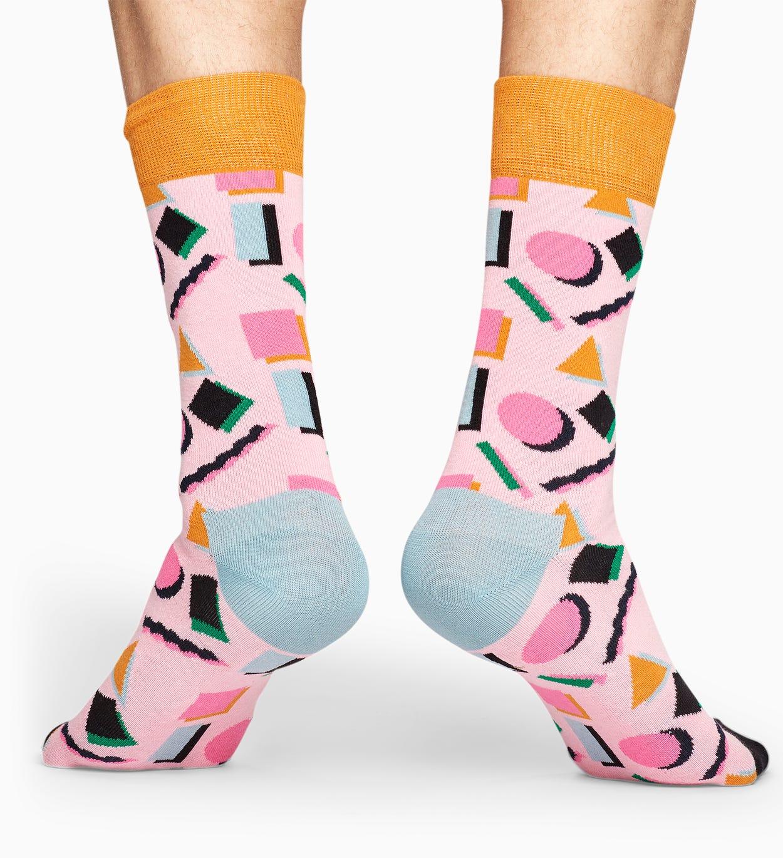 Pink socks: Nineties pattern | Happy Socks