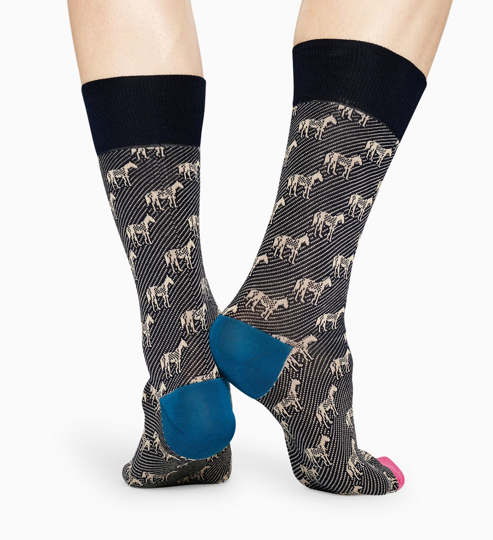 Graue Anzugsocken: Horse - DRESSED | Happy Socks