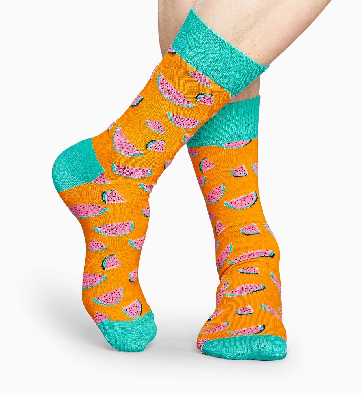 Orange Wassermelonen Socken: Watermelon   Happy Socks