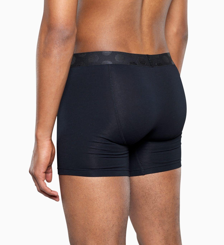 Blue trunk: Solid - Men's Underwear 3pc   Happy Socks