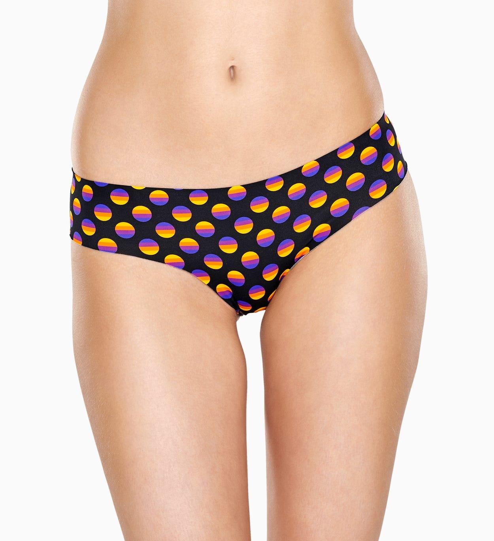 Schwarze Brief: Sunrise - Damenunterwäsche   Happy Socks