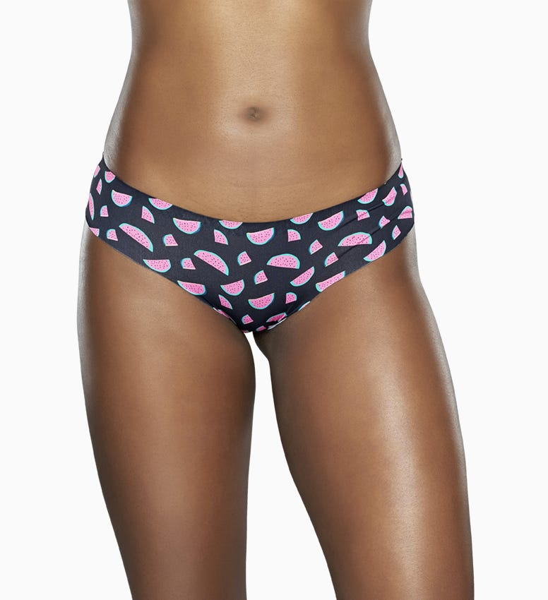 Schwarze Damenunterwäsche: Wassermelonen | Happy Socks