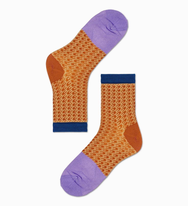 Orange niedrige Socken: Jill | Hysteria by Happy Socks