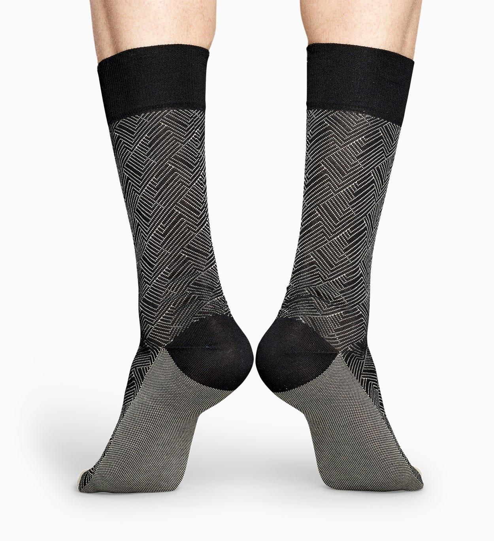 Schwarze Anzugsocken: Circuit - Dressed | Happy Socks