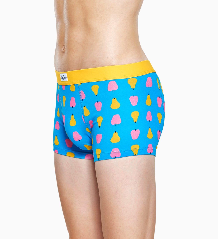 Hellblaue Herren Unterwäsche: Fruit Trunk   Happy Socks
