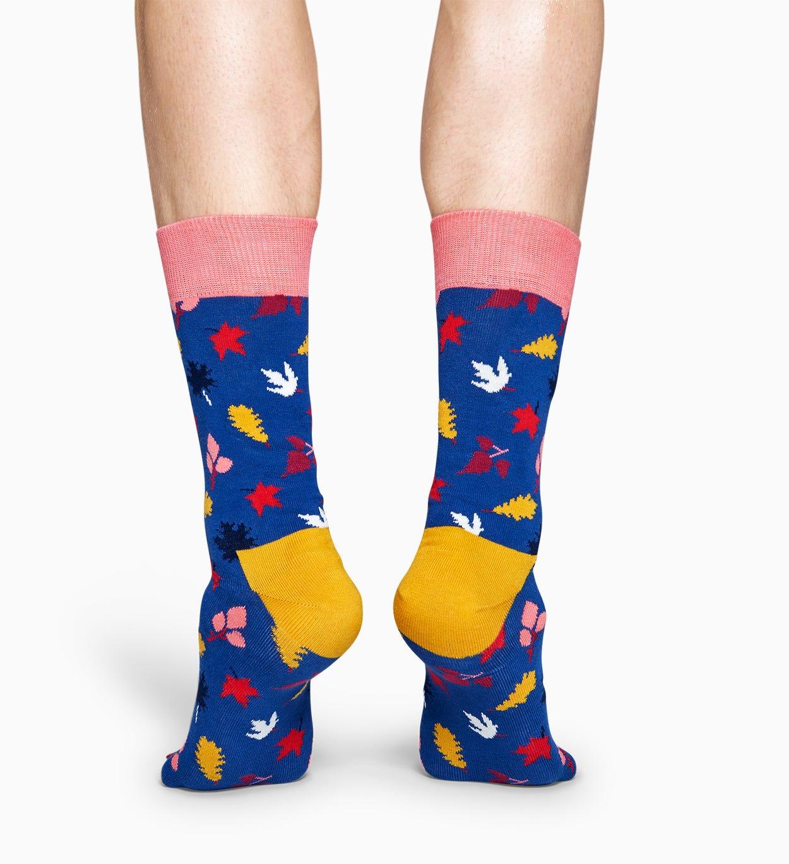 Blaue Baumwollsocken: Fall Design   Happy Socks