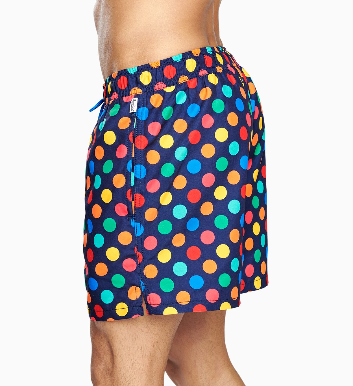Bunte Badeshorts für Männer: Big Dot I Happy Socks