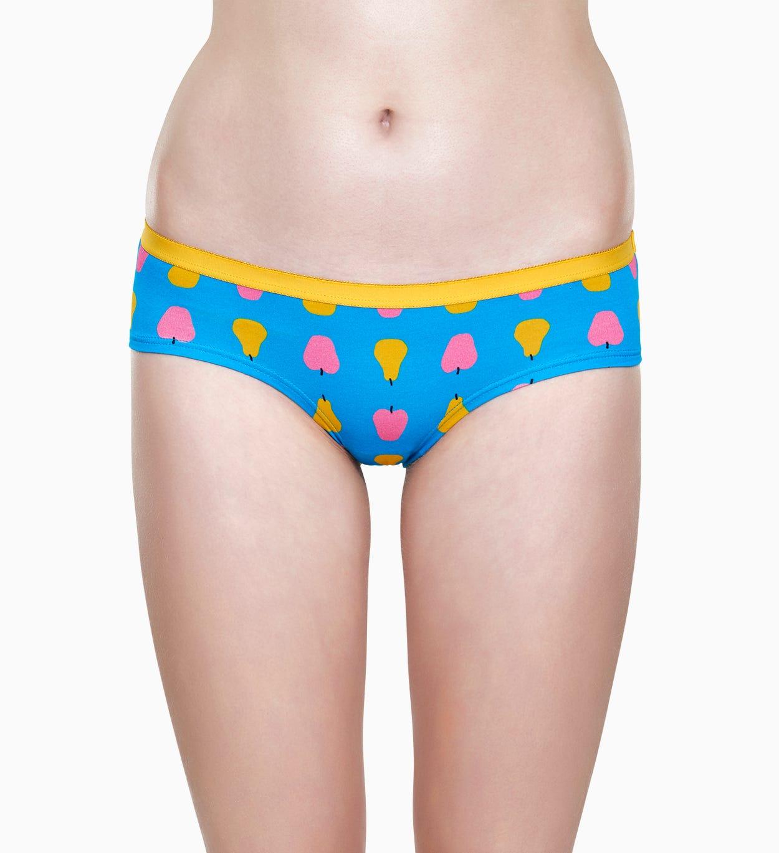 Blaue Damen Unterwäsche: Fruit Hipster   Happy Socks