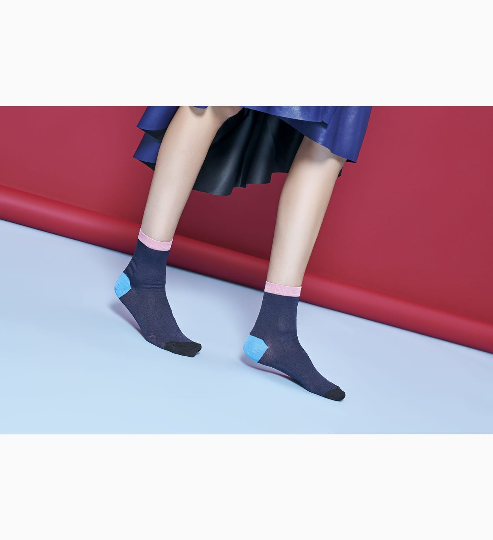 Marineblaue Knöchelsocken: Grace | Hysteria by Happy Socks