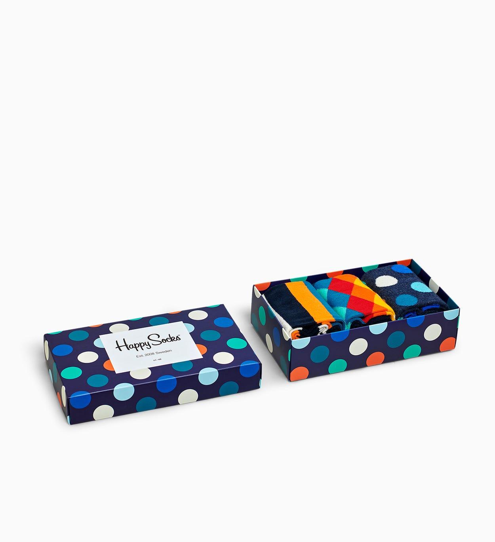 Klassische, gemischte Socken Geschenkbox | Happy Socks