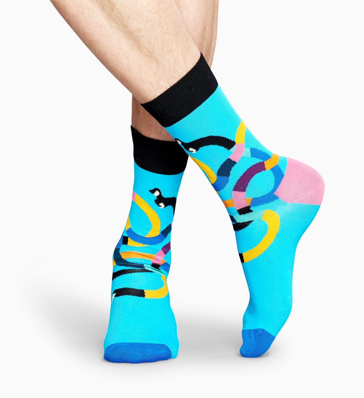 Blaue  Socken: Wiener Dog | Happy Socks