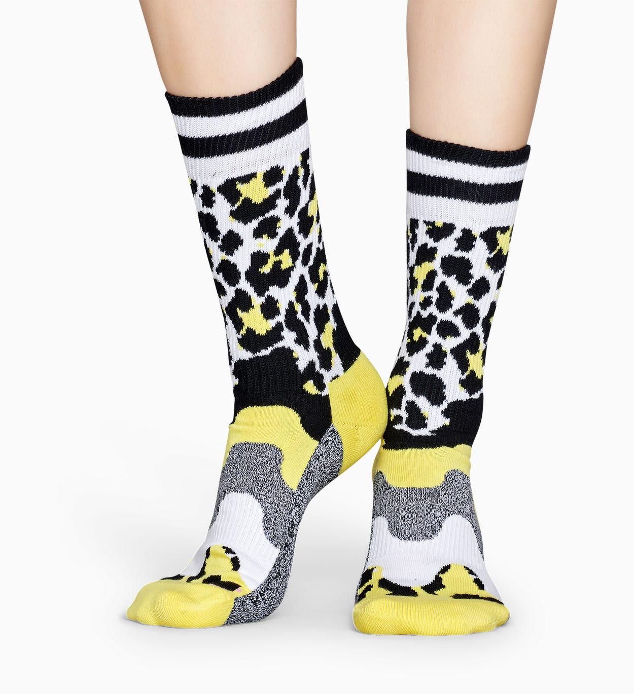 Graue Sportsocken: Tiere - ATHLETIC | Happy Socks