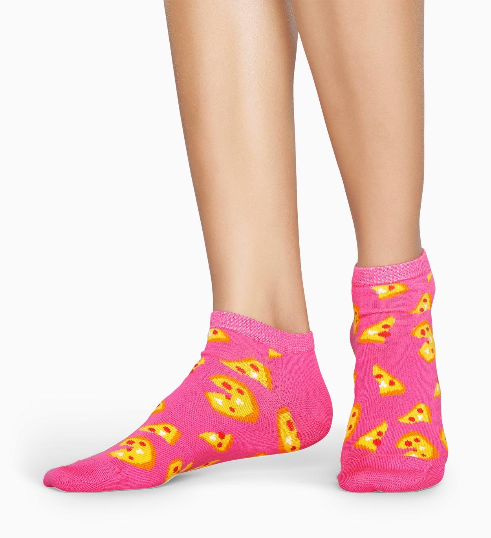 Pinke Low Socken: Pizza | Happy Socks