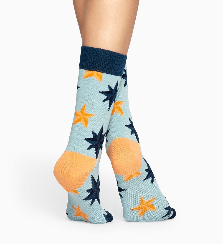 Light Blue socks: Nautical pattern | Happy Socks