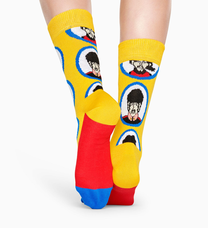 Exklusive The Beatles Socken: Yellow Submarine I Happy Socks