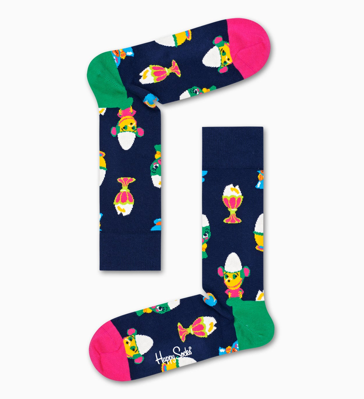 Easter 양말 기프트 박스, 옐로   Happy Socks