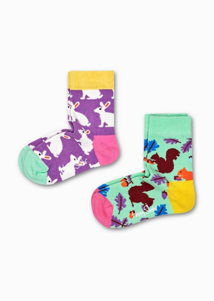 2-Pack Kids Bunny Socks