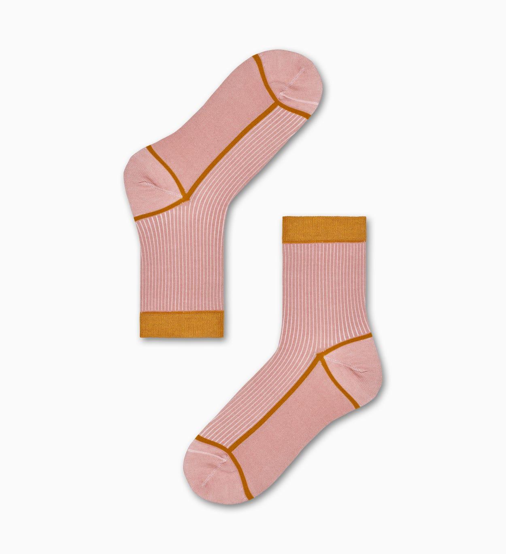 Lily Ankle Socken, Pink - Hysteria   Happy Socks