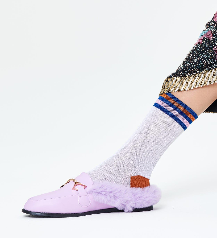 Bianco Calzini corti: Lona - Hysteria | Happy Socks