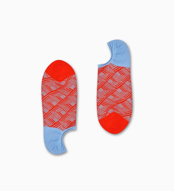 Dimension No-Show Socken, Orange - Dressed | Happy Socks