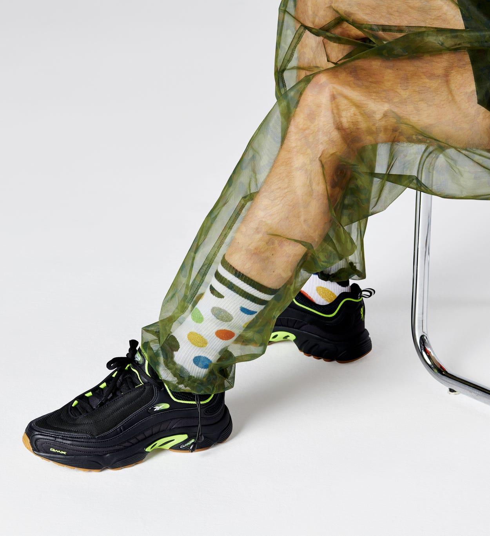 Big Dot Socken, Weiß - ATHLETIC   Happy Socks