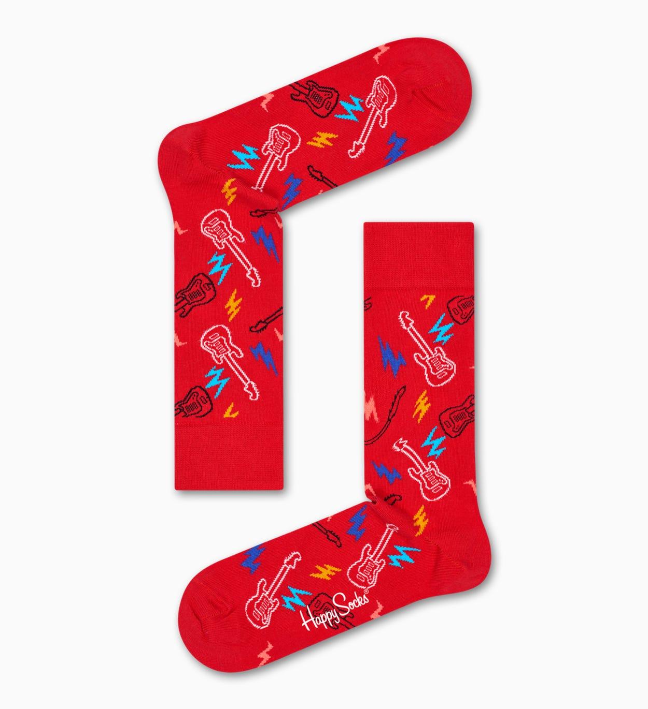 Rote Baumwollsocken: Guitarra Design | Happy Socks