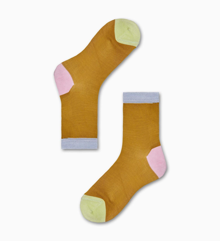 Grace Ankle Socken, Gelb - Hysteria | Happy Socks