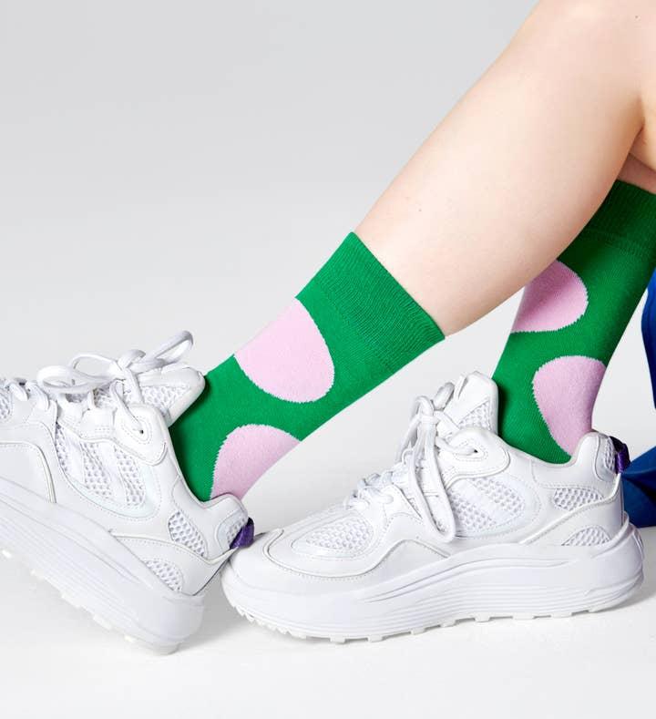 Jumbo Dot Sock 4