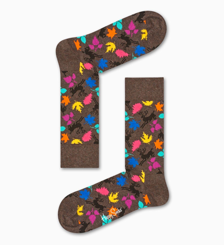 Brown socks: Deer pattern   Happy Socks