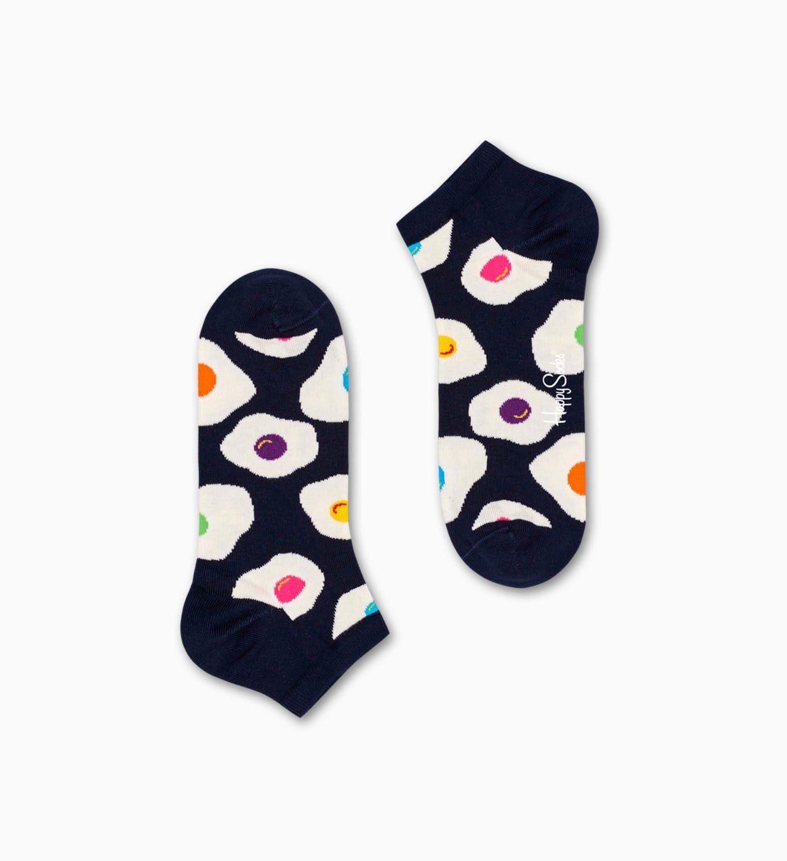 Marineblaue Low Socken: Sunny Side Up   Happy Socks