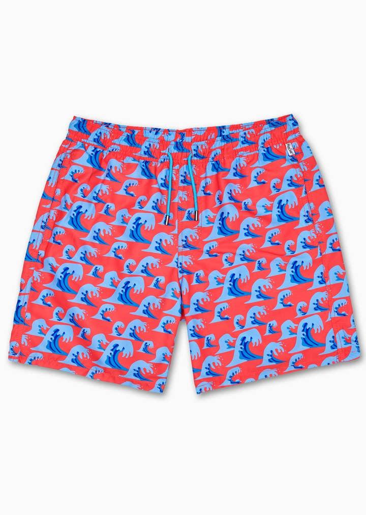 Wave Long Swim Shorts