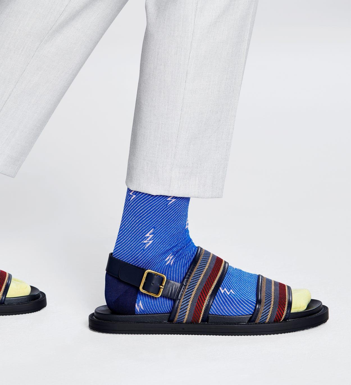 Flash Socken, Blau - Dressed | Happy Socks
