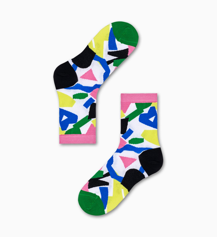Elsa Ankle Socken, Weiß - Hysteria | Happy Socks