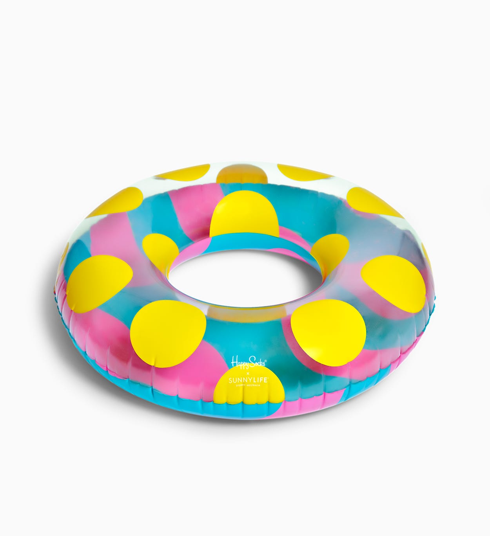 Bunte Fun Stripe Dot Schwimmreifen   Happy Socks