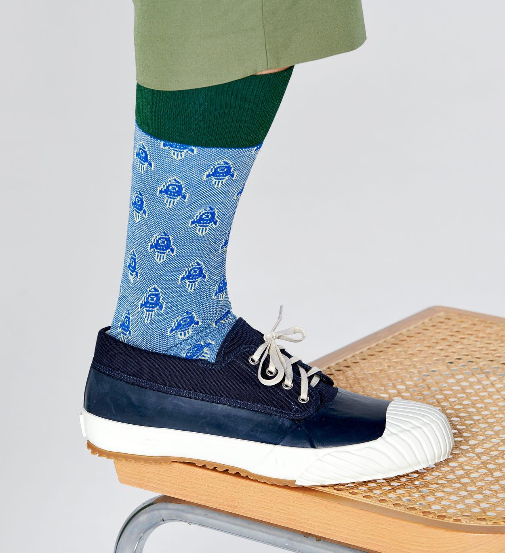 Rocket Socken, Blau - Dressed   Happy Socks