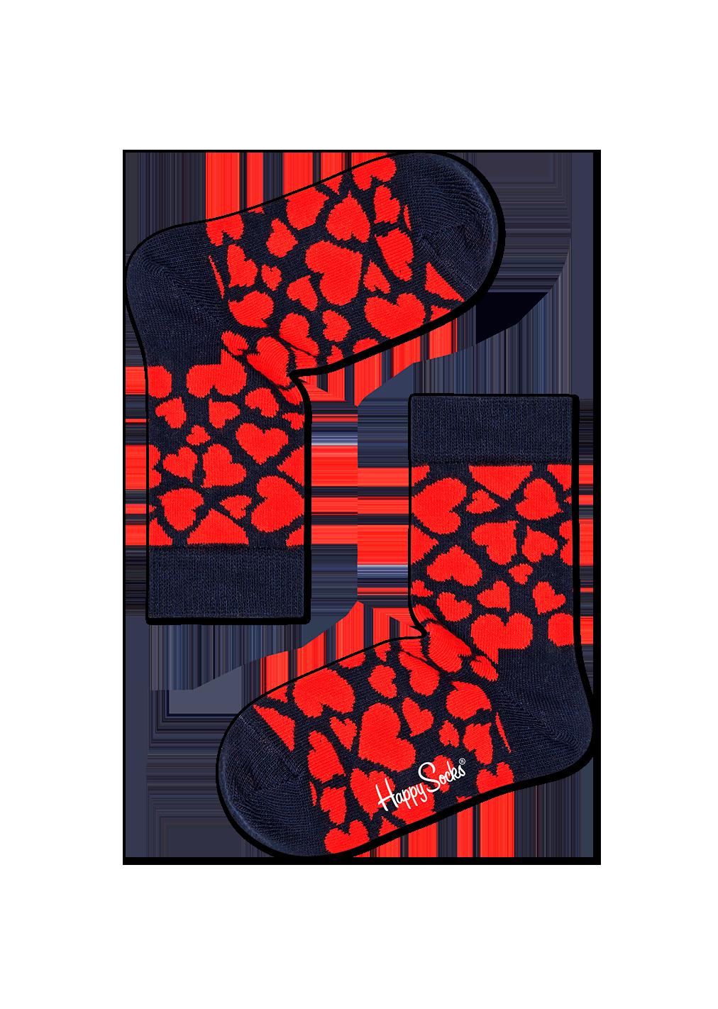 Kids Heart Sock