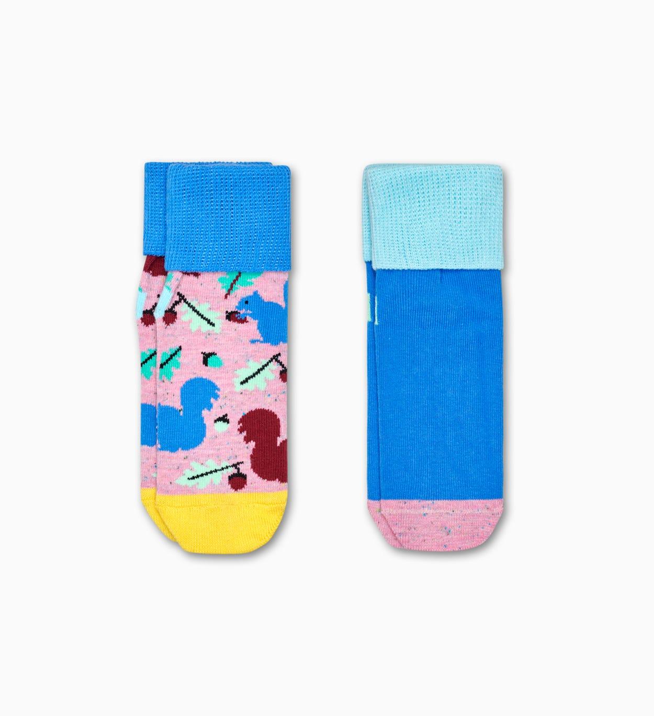 Rutschfeste Socken für Babys 2er: Squirrel | Happy Socks