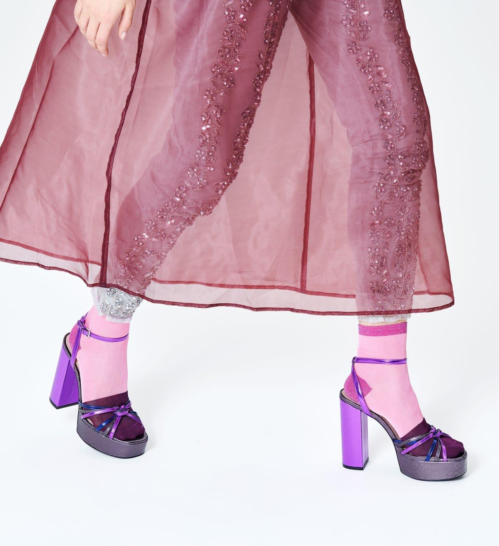 Pinke Ankle Socken: Liza - Hysteria   Happy Socks